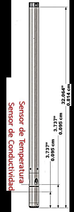 sonda de conductividad y temperatura